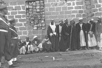 Inhabitants of Al-Faluja just before they were ethnically cleansed from their land (1949)