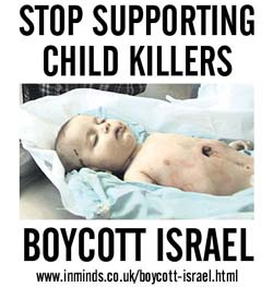 Stop Supporting Child Killers