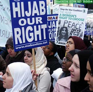 Anti-Hijaab Bigotry and Intolerance