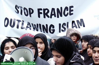 the french ban of the hijab So, yeah, first of all, wearing a hijab is totally legal in france headscarves are even a customary dress item for women here banning it would be unthinkable you might be referring to the ban on ostentatious religious item in public schools, which disqualifies the hijab on school grounds, or the .