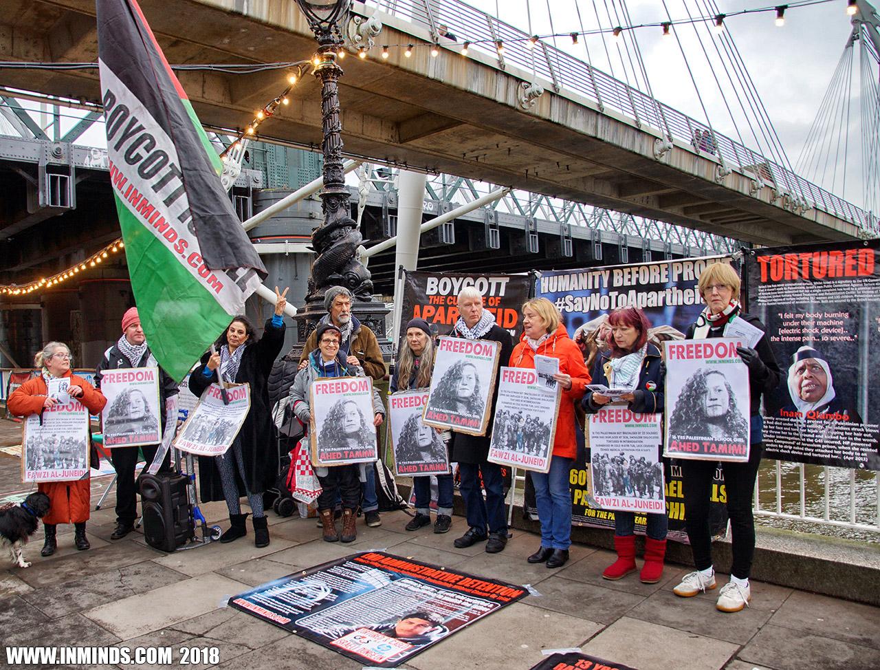 Boycott Israel News: London Protest Demands Free the