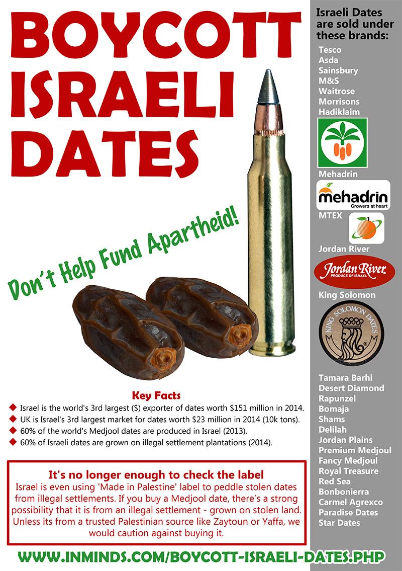 Boycott Israel News Boycott Israeli Dates This Ramadan Checking