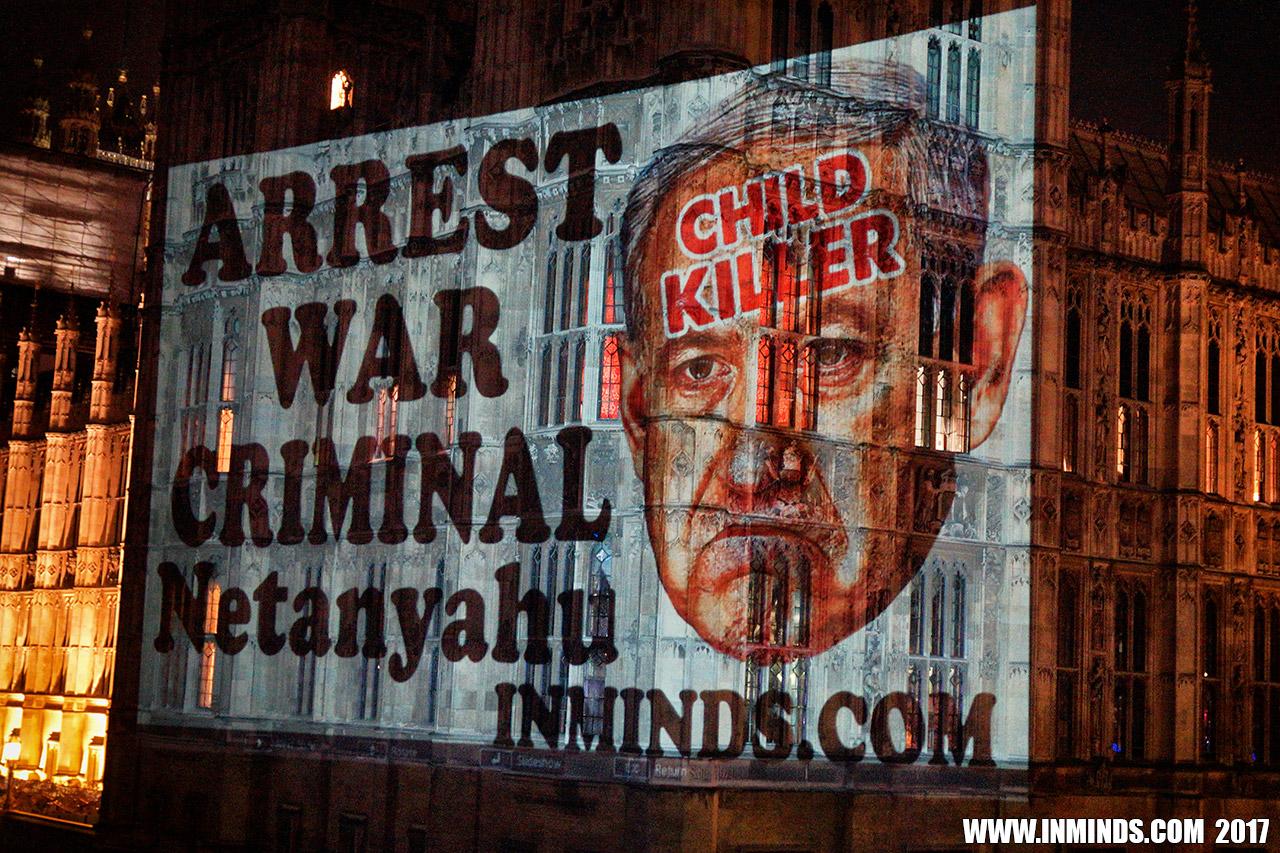 Boycott Israel News Arrest Netanyahu Stop Trump Projection On
