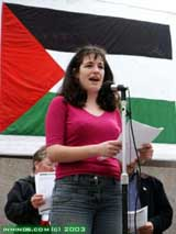 Sophie Hurndall, sister of Tom Hurndall - shot by Israeli soldiers